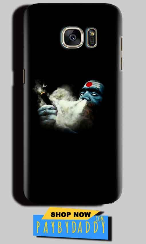 Samsung Galaxy S6 Edge Plus Mobile Covers Cases Shiva Aghori Smoking - Lowest Price - Paybydaddy.com
