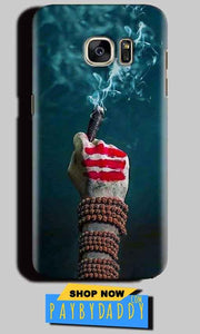 Samsung Galaxy S6 Edge Plus Mobile Covers Cases Shiva Hand With Clilam - Lowest Price - Paybydaddy.com