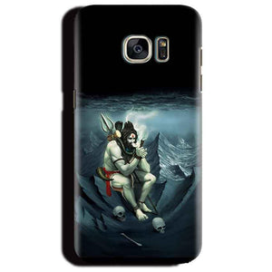 Samsung Galaxy S6 Edge Plus Mobile Covers Cases Shiva Smoking - Lowest Price - Paybydaddy.com