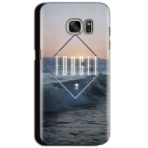 Samsung Galaxy S6 Mobile Covers Cases Forget Quote Something Different - Lowest Price - Paybydaddy.com