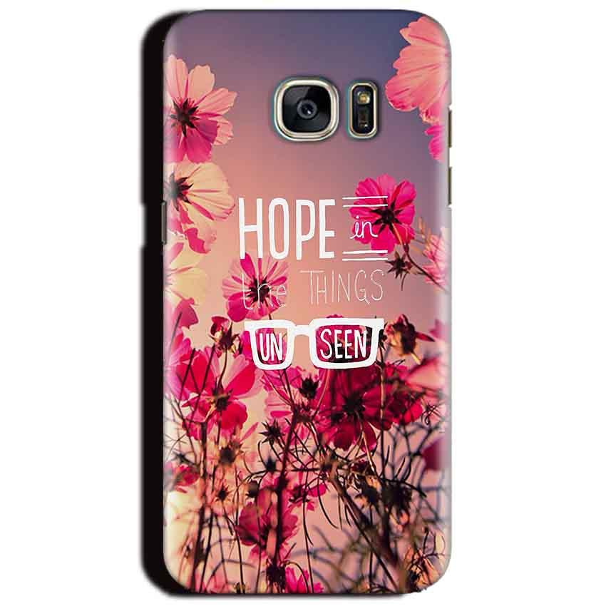 Samsung Galaxy S6 Mobile Covers Cases Hope in the Things Unseen- Lowest Price - Paybydaddy.com