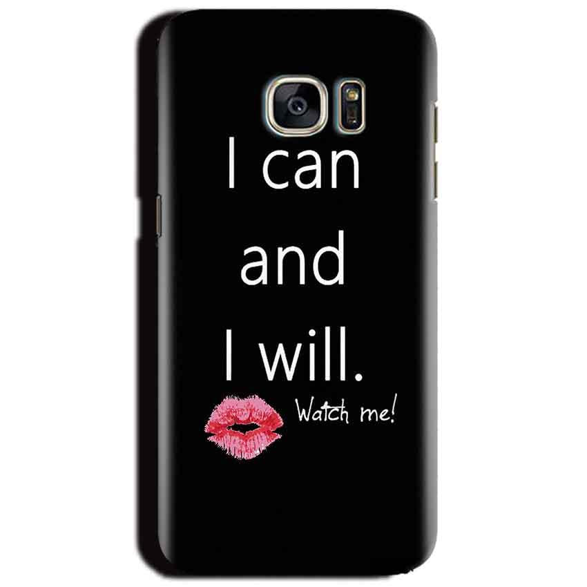 Samsung Galaxy S6 Mobile Covers Cases i can and i will Lips - Lowest Price - Paybydaddy.com