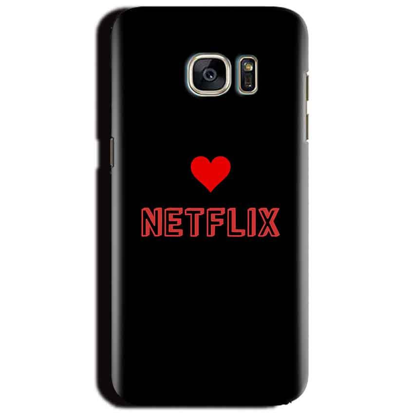 Samsung Galaxy S6 Mobile Covers Cases NETFLIX WITH HEART - Lowest Price - Paybydaddy.com