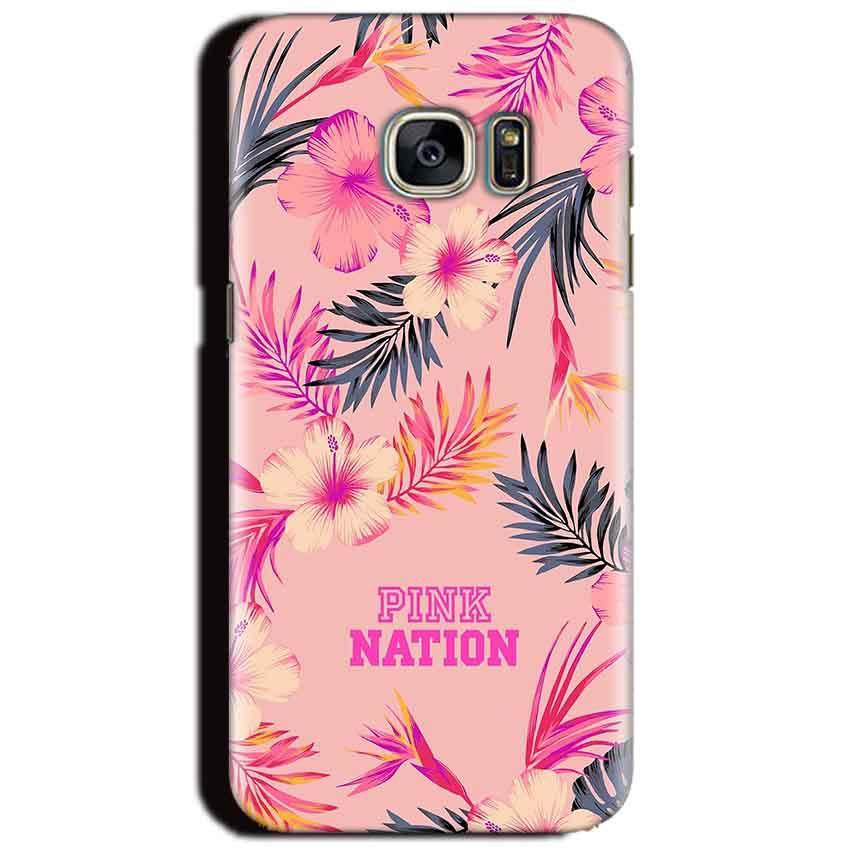 Samsung Galaxy S6 Mobile Covers Cases Pink nation - Lowest Price - Paybydaddy.com