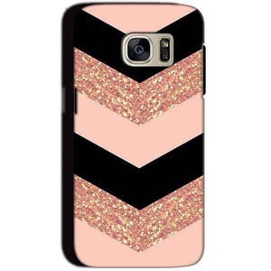 Samsung Galaxy S7 Mobile Covers Cases Black down arrow Pattern - Lowest Price - Paybydaddy.com