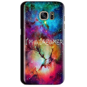 Samsung Galaxy S7 Edge Mobile Covers Cases I am Dreamer - Lowest Price - Paybydaddy.com