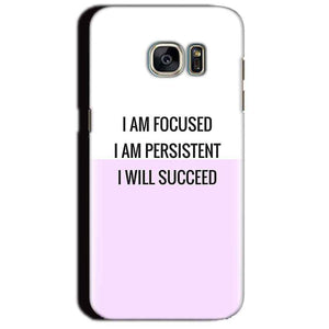 Samsung Galaxy S7 Edge Mobile Covers Cases I am Focused - Lowest Price - Paybydaddy.com