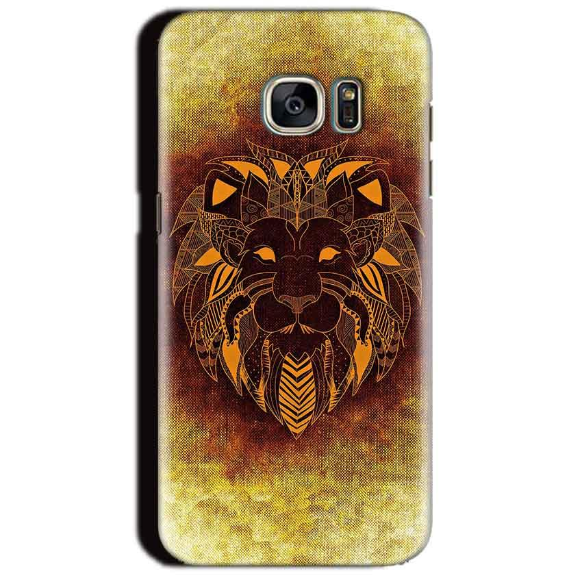Samsung Galaxy S7 Edge Mobile Covers Cases Lion face art - Lowest Price - Paybydaddy.com