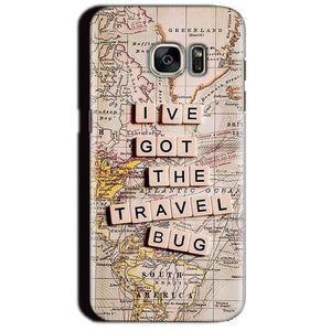 Samsung Galaxy S7 Edge Mobile Covers Cases Live Travel Bug - Lowest Price - Paybydaddy.com