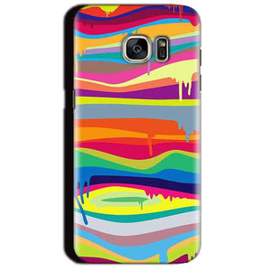Samsung Galaxy S7 Edge Mobile Covers Cases Melted colours - Lowest Price - Paybydaddy.com