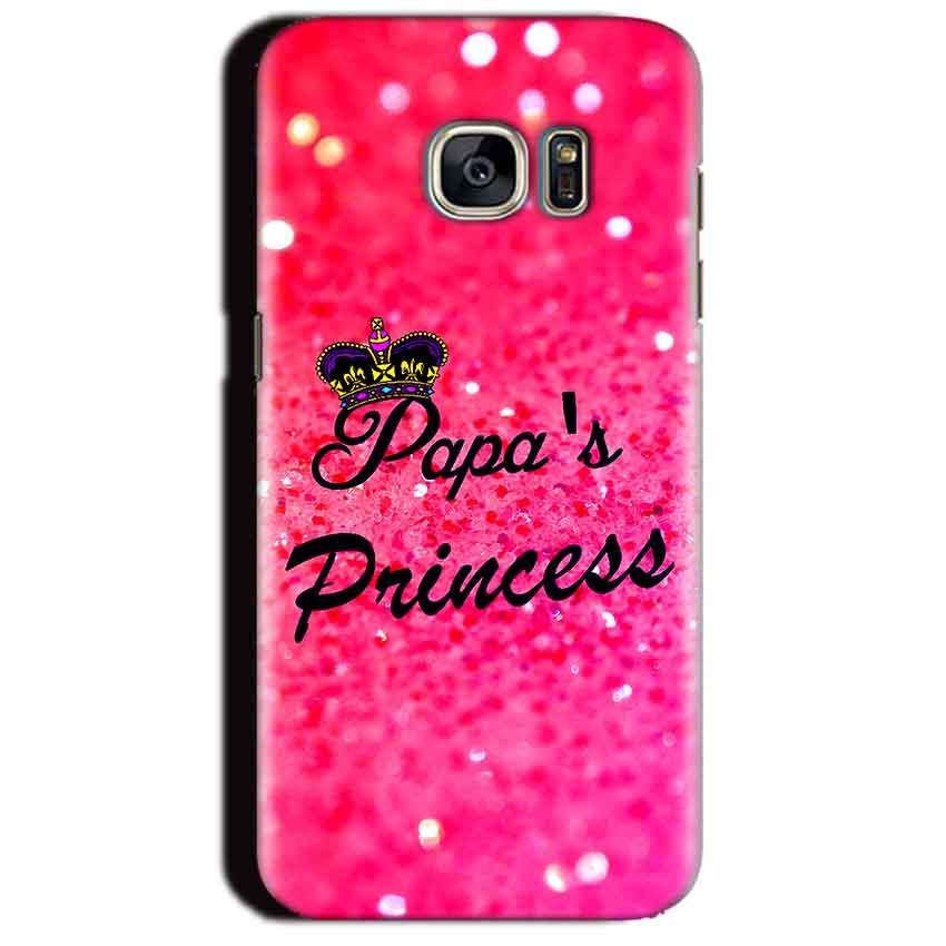 Samsung Galaxy S7 Edge Mobile Covers Cases PAPA PRINCESS - Lowest Price - Paybydaddy.com