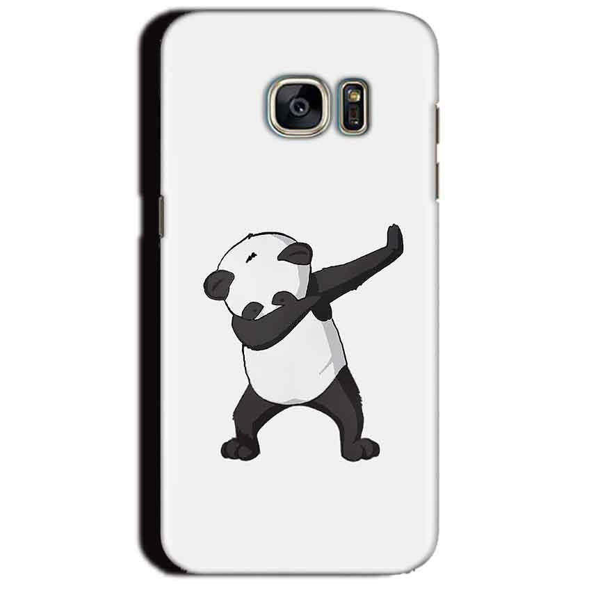 Samsung Galaxy S7 Edge Mobile Covers Cases Panda Dab - Lowest Price - Paybydaddy.com