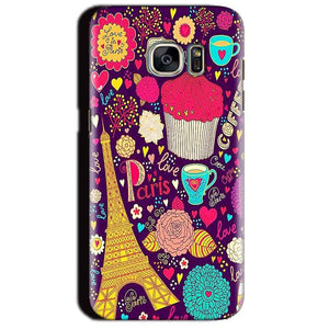 Samsung Galaxy S7 Edge Mobile Covers Cases Paris Sweet love - Lowest Price - Paybydaddy.com
