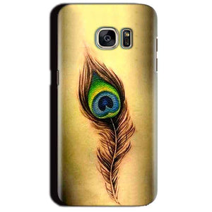 Samsung Galaxy S7 Edge Mobile Covers Cases Peacock coloured art - Lowest Price - Paybydaddy.com