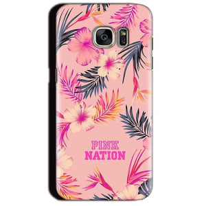 Samsung Galaxy S7 Edge Mobile Covers Cases Pink nation - Lowest Price - Paybydaddy.com
