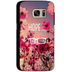 Samsung Galaxy S7 Mobile Covers Cases Hope in the Things Unseen- Lowest Price - Paybydaddy.com