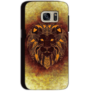 Samsung Galaxy S7 Mobile Covers Cases Lion face art - Lowest Price - Paybydaddy.com