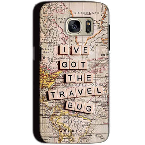 Samsung Galaxy S7 Mobile Covers Cases Live Travel Bug - Lowest Price - Paybydaddy.com