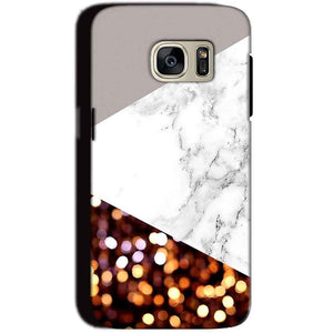Samsung Galaxy S7 Mobile Covers Cases MARBEL GLITTER - Lowest Price - Paybydaddy.com