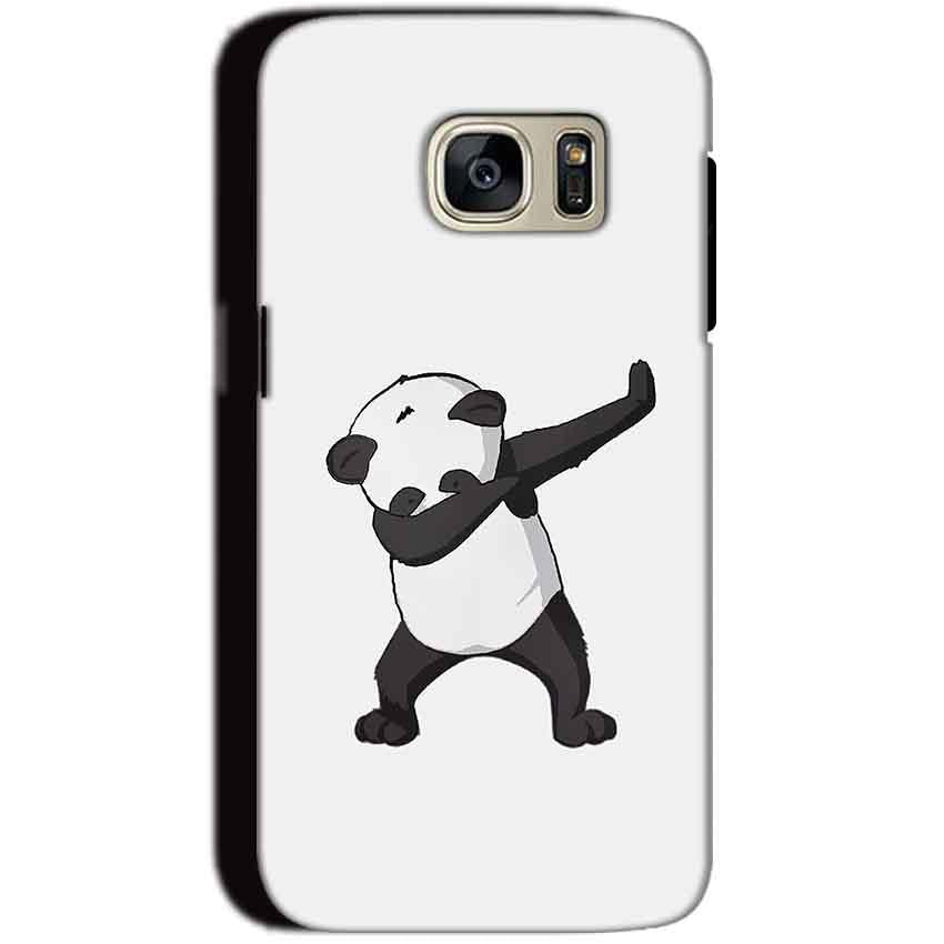 Samsung Galaxy S7 Mobile Covers Cases Panda Dab - Lowest Price - Paybydaddy.com