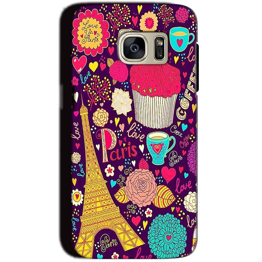 Samsung Galaxy S7 Mobile Covers Cases Paris Sweet love - Lowest Price - Paybydaddy.com