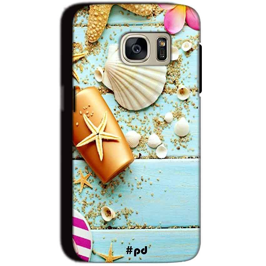 Samsung Galaxy S7 Mobile Covers Cases Pearl Star Fish - Lowest Price - Paybydaddy.com