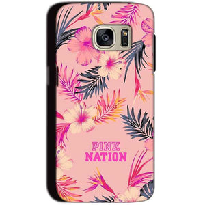 Samsung Galaxy S7 Mobile Covers Cases Pink nation - Lowest Price - Paybydaddy.com