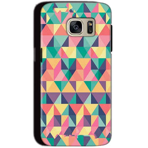 Samsung Galaxy S7 Mobile Covers Cases Prisma coloured design - Lowest Price - Paybydaddy.com