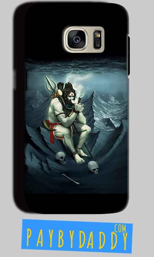 Samsung Galaxy S7 Mobile Covers Cases Shiva Smoking - Lowest Price - Paybydaddy.com