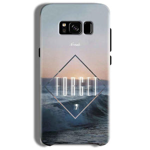 Samsung Galaxy S8 Plus Mobile Covers Cases Forget Quote Something Different - Lowest Price - Paybydaddy.com