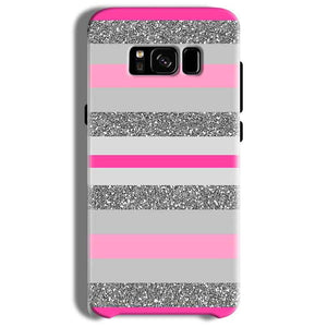 Samsung Galaxy S8 Plus Mobile Covers Cases Pink colour pattern - Lowest Price - Paybydaddy.com