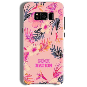 Samsung Galaxy S8 Plus Mobile Covers Cases Pink nation - Lowest Price - Paybydaddy.com