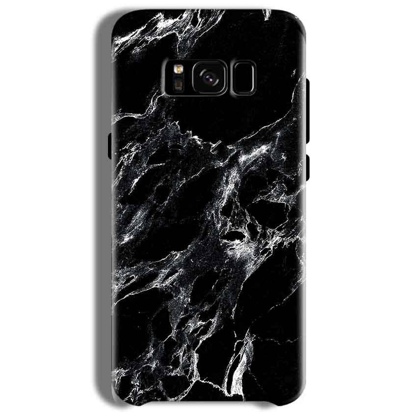 Samsung Galaxy S8 Plus Mobile Covers Cases Pure Black Marble Texture - Lowest Price - Paybydaddy.com