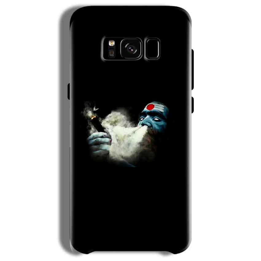 Samsung Galaxy S8 Plus Mobile Covers Cases Shiva Aghori Smoking - Lowest Price - Paybydaddy.com
