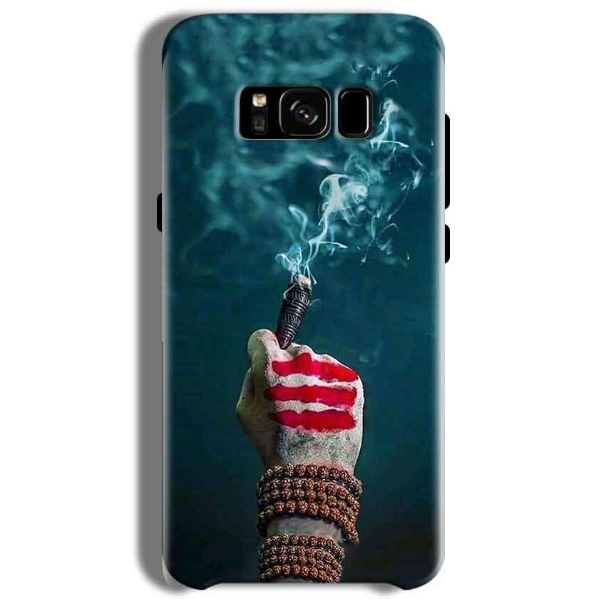 Samsung Galaxy S8 Plus Mobile Covers Cases Shiva Hand With Clilam - Lowest Price - Paybydaddy.com
