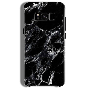 Samsung Galaxy S8 Mobile Covers Cases Pure Black Marble Texture - Lowest Price - Paybydaddy.com