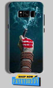 Samsung Galaxy S8 Mobile Covers Cases Shiva Hand With Clilam - Lowest Price - Paybydaddy.com