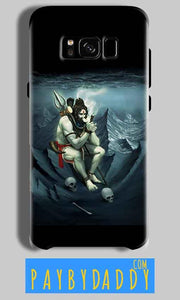 Samsung Galaxy S8 Mobile Covers Cases Shiva Smoking - Lowest Price - Paybydaddy.com