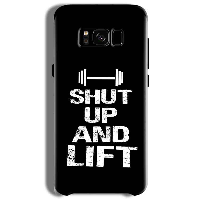 Samsung Galaxy S8 Mobile Covers Cases Shut Up And Lift - Lowest Price - Paybydaddy.com