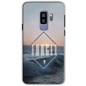 Samsung Galaxy S9 Plus Mobile Covers Cases Forget Quote Something Different - Lowest Price - Paybydaddy.com