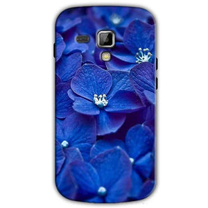 Samsung Galaxy S Duos S7562 Mobile Covers Cases Blue flower - Lowest Price - Paybydaddy.com