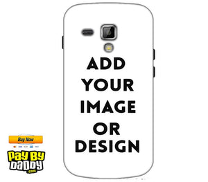 Customized Samsung Galaxy S Duos S7562 Mobile Phone Covers & Back Covers with your Text & Photo
