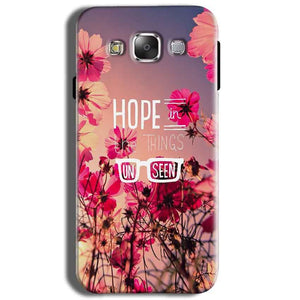 Samsung J2 2015 Mobile Covers Cases Hope in the Things Unseen- Lowest Price - Paybydaddy.com