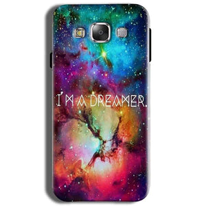 Samsung J2 2015 Mobile Covers Cases I am Dreamer - Lowest Price - Paybydaddy.com