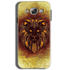 Samsung J2 2015 Mobile Covers Cases Lion face art - Lowest Price - Paybydaddy.com