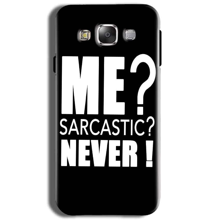 Samsung J2 2015 Mobile Covers Cases Me sarcastic - Lowest Price - Paybydaddy.com