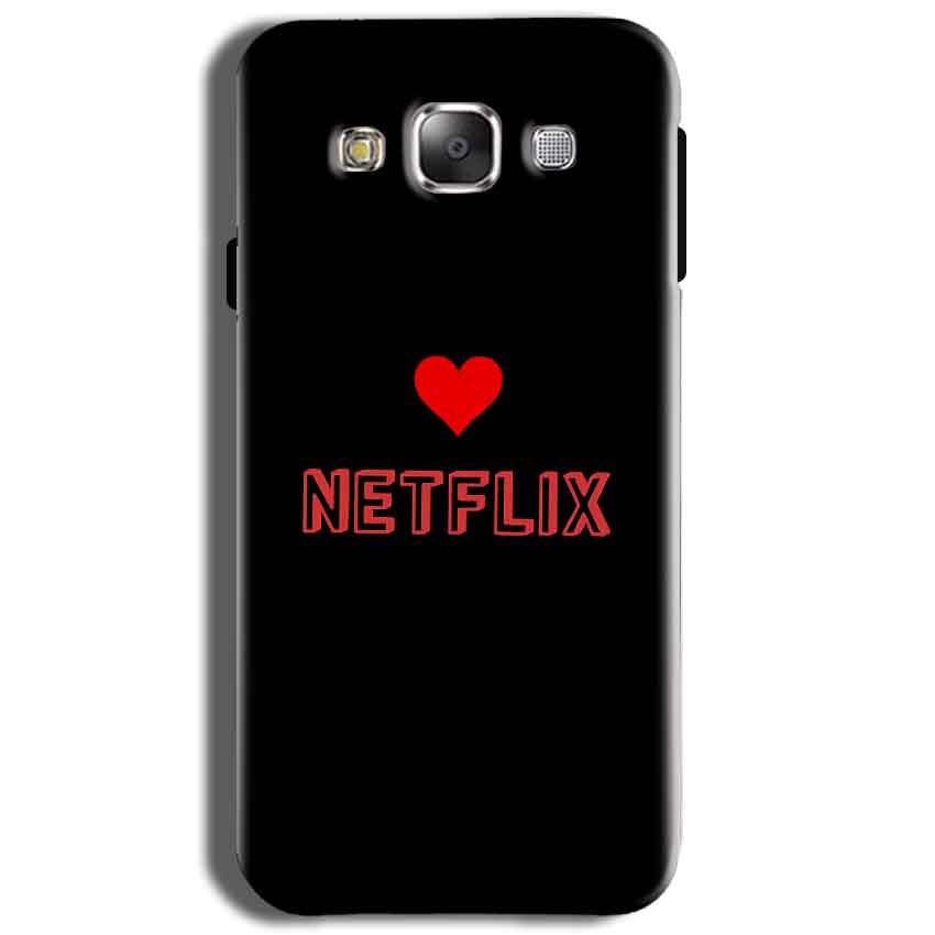 Samsung J2 2015 Mobile Covers Cases NETFLIX WITH HEART - Lowest Price - Paybydaddy.com