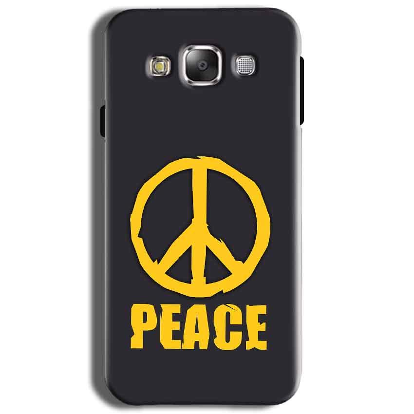 Samsung J2 2015 Mobile Covers Cases Peace Blue Yellow - Lowest Price - Paybydaddy.com