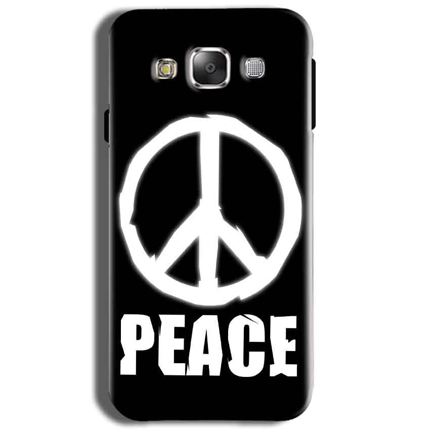 Samsung J2 2015 Mobile Covers Cases Peace Sign In White - Lowest Price - Paybydaddy.com