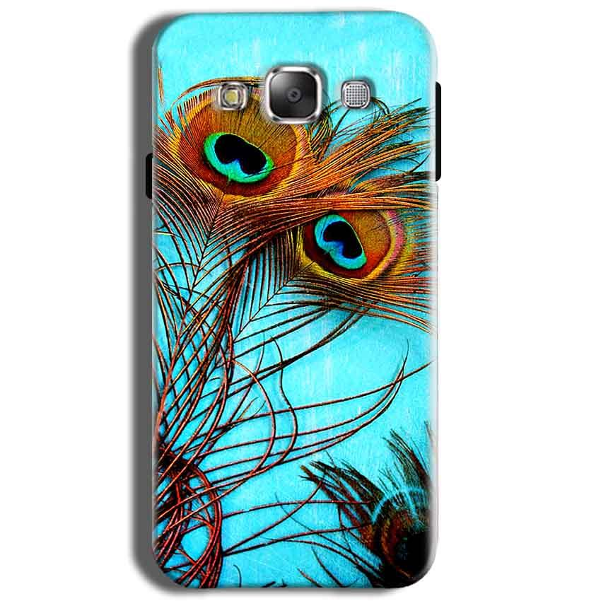 Samsung J2 2015 Mobile Covers Cases Peacock blue wings - Lowest Price - Paybydaddy.com